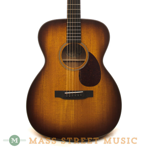 Collings OM1AllMhSB Acoustic Guitar - front close