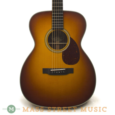 Collings OM2H SB Acoustic Guitar - front close