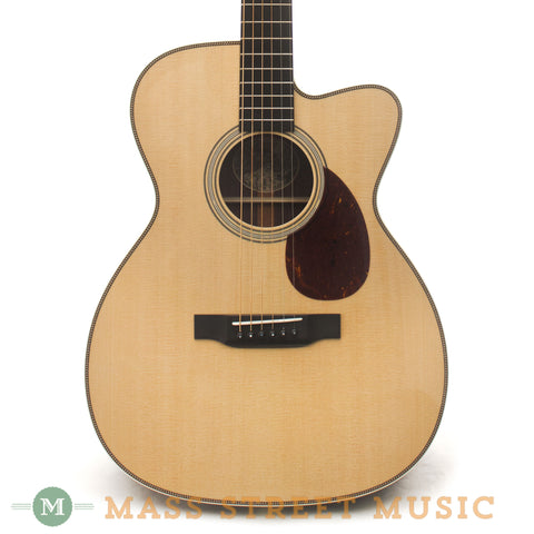 Collings OM2H Cutaway Acoustic Guitar - front close