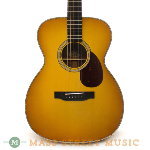 Collings OM2H Koa G SB Acoustic Guitar - front close