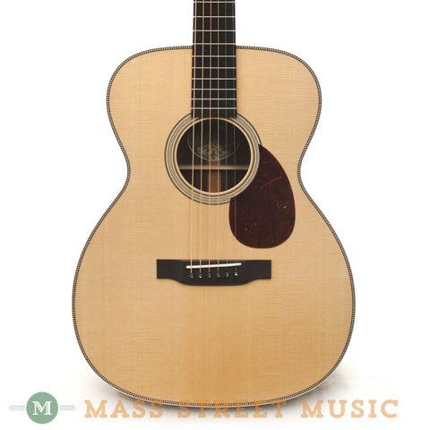Collings OM2H VN T Prototype Acoustic Guitar - front close
