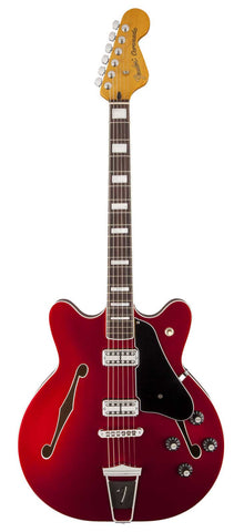 Fender Coronado electric guitar Candy Apple - Front