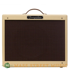 Tungsten Amps - Crema Wheat Blonde/Oxblood w/Greenback Speaker