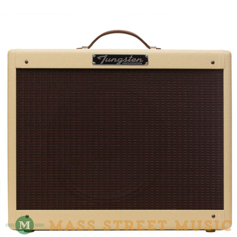 Tungsten Amps - Crema Wheat Blonde/Oxblood - Front