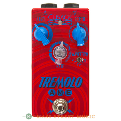 Cusack Effects Tremolo AME Pedal - front