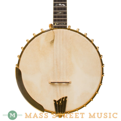 "OME Banjos - 2002 Custom Phoenix 11"" Open-Back Used - Front Close"