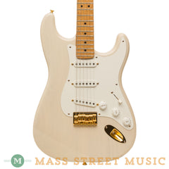 Fender Custom Shop - 1991 Hardtail Clapton Stratocaster - Trans White - Used