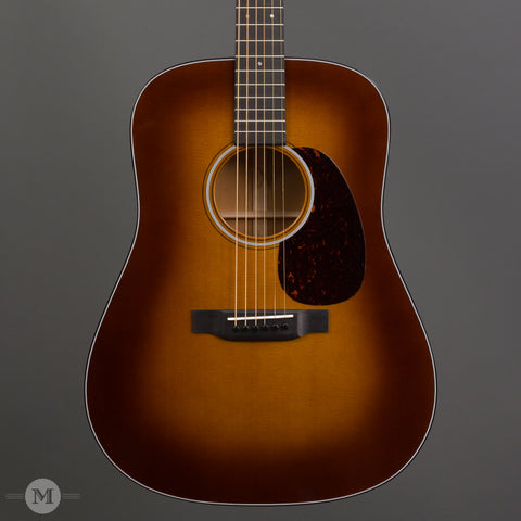 Martin Acoustic Guitars - D-18 Ambertone - Front Close