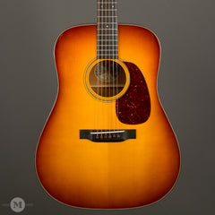 Collings Acoustic Guitars - D1 A Traditional T Series 1 11/16 Sunburst - Front Close