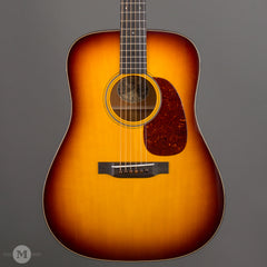 "Collings Acoustic Guitars - D1 Traditional Series Custom Burst 1-11/16"" - Front Close"