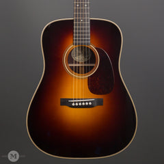 Collings Acoustic Guitars - D2H A Traditional T Series Custom Sunburst - Front