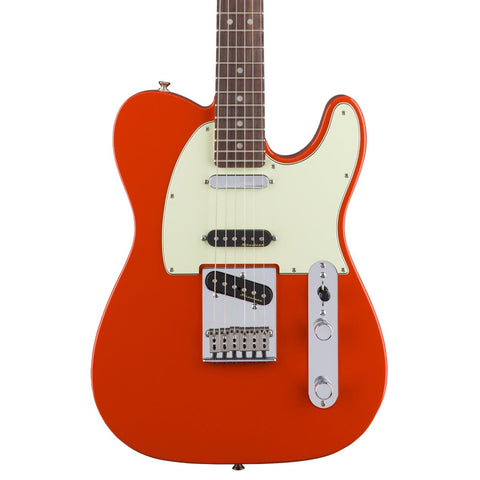 Fender - Deluxe Nashville Telecaster RW - Fiesta Red - Front Close