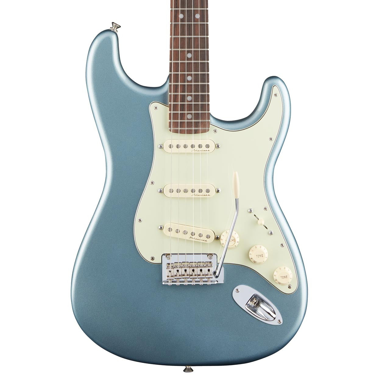 Fender Electric Guitars - Deluxe Roadhouse Stratocaster - Mystic Ice ...