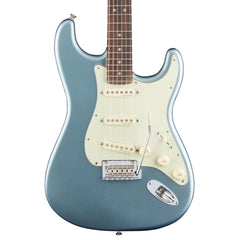 Fender - Deluxe Roadhouse Stratocaster - Mystic Ice Blue - Front Close