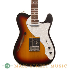 Fender - Deluxe Thinline Telecaster RW - Burst - Front Close