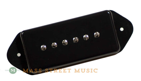 Fralin P90 Dogear guitar pickup in black