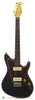 Grosh ElectraJet Custom Metallic Black Used Electric Guitar - front