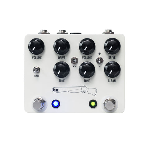JHS Effect Pedals - Double Barrel Overdrive V4