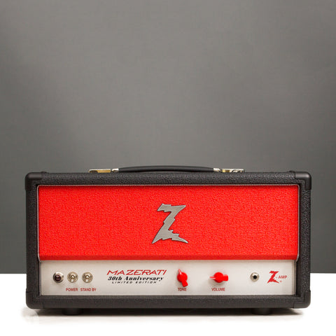 Dr. Z Amps - 30th Anniversary Mazerati Head