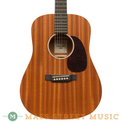 Martin Acoustic Guitars - Dreadnought Junior D JR 2 Sapele - Front Close