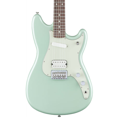 Fender Duo Sonic HS - Surf Green - Front Close