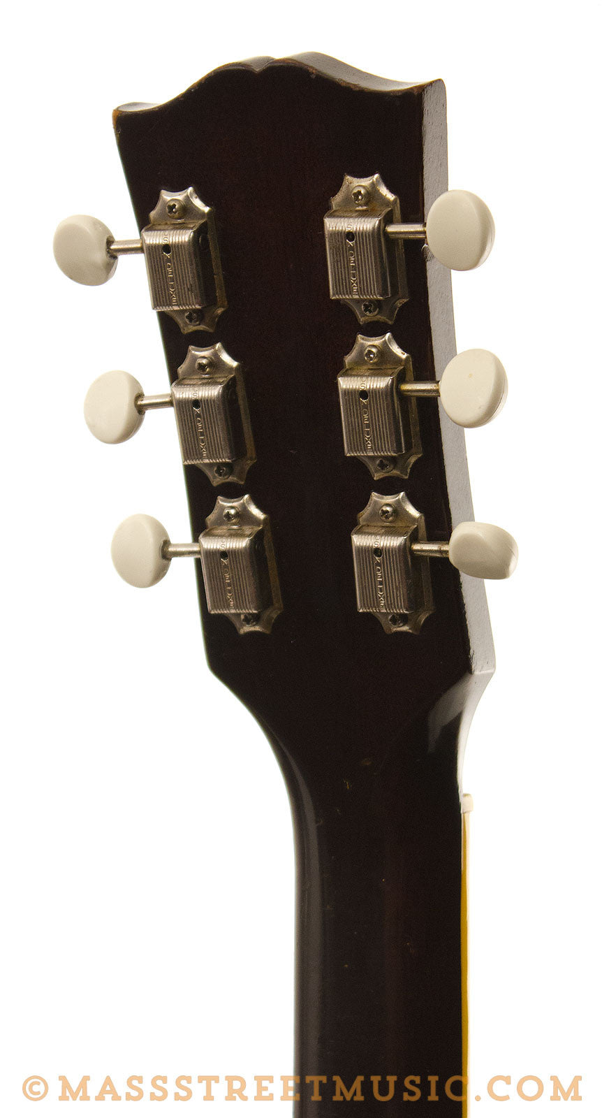 gibson vintage es 225t 1956 used thinline hollowbody electric guitar mass street music store. Black Bedroom Furniture Sets. Home Design Ideas