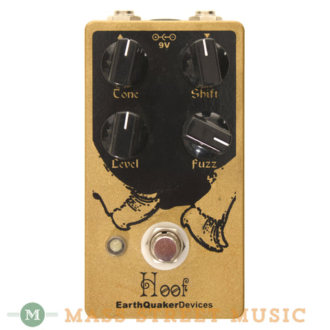 EarthQuaker Devices Hoof Used Fuzz Pedal - front