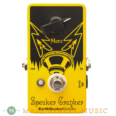 EarthQuaker Devices Speaker Cranker Overdrive Pedal - front