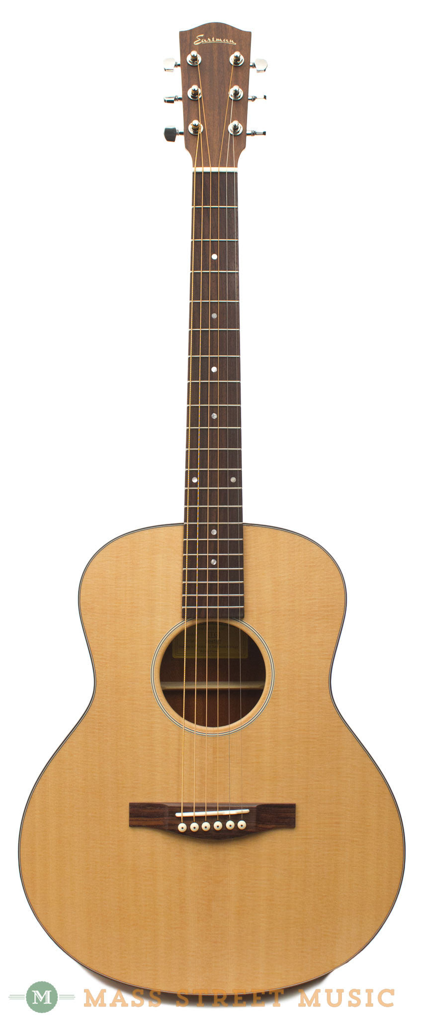 eastman acoustic guitars actg1 travel with gig bag mass street music store. Black Bedroom Furniture Sets. Home Design Ideas
