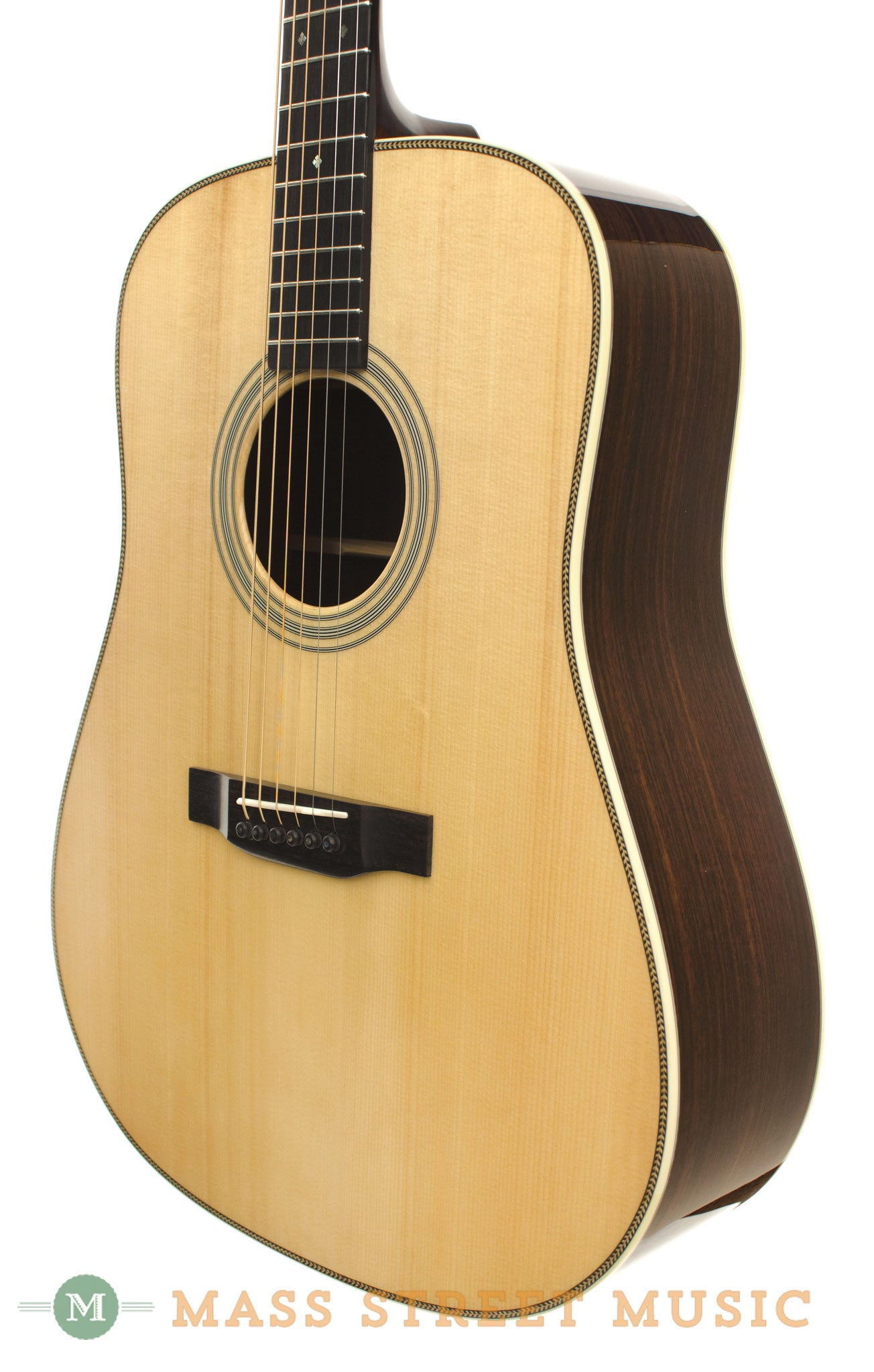 eastman e8d acoustic guitar used near mint case included mass street music store. Black Bedroom Furniture Sets. Home Design Ideas
