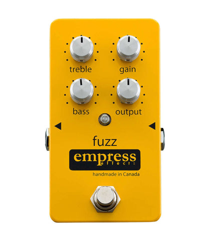 Empress Effects Fuzz Pedal - front
