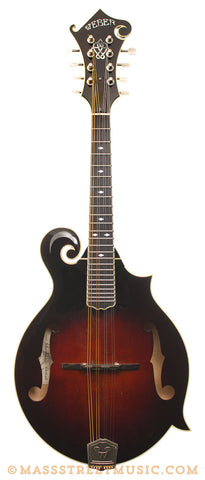 Weber Yellowstone F-Style Mandolin - front