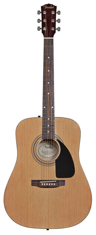 Fender FA-100 Acoustic Guitar - front