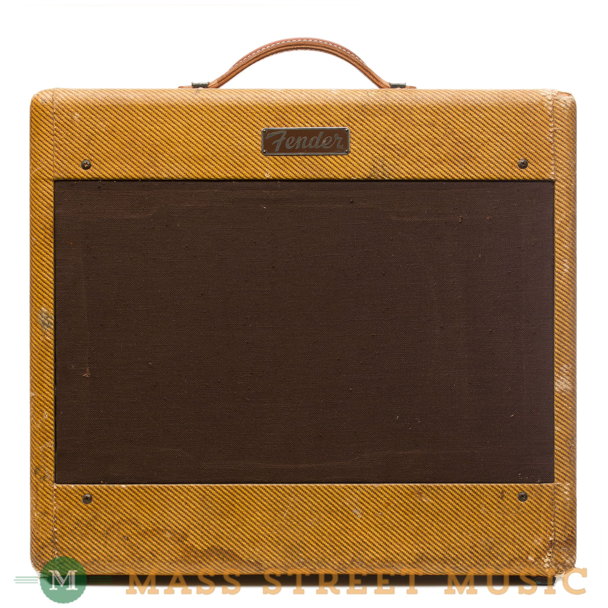 Fender Tweed Amp >> Fender Amps 1955 Tweed Deluxe Used