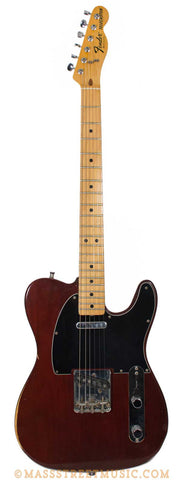 1978 Fender Tele brown - front