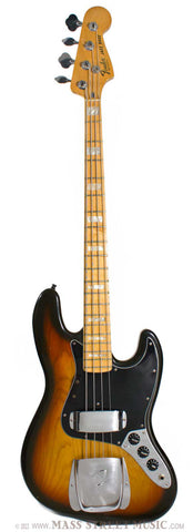 1978 Fender Jazz Bass Burst - front