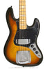 1978 Fender Jazz Bass Burst - front close up