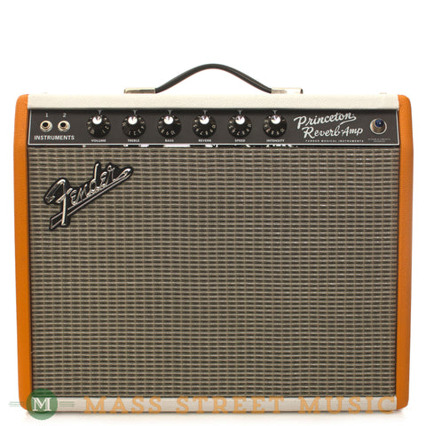 Fender Used '65 Princeton Reverb Reissue Limited Edition - front