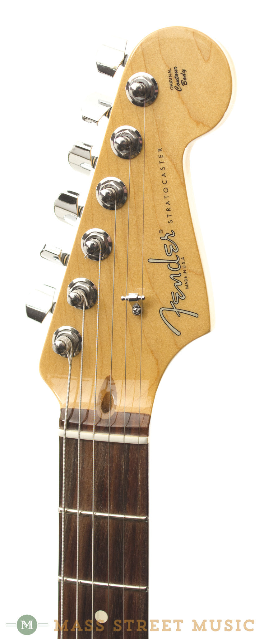 fender american standard strat 2010 used electric guitar mass street music store. Black Bedroom Furniture Sets. Home Design Ideas