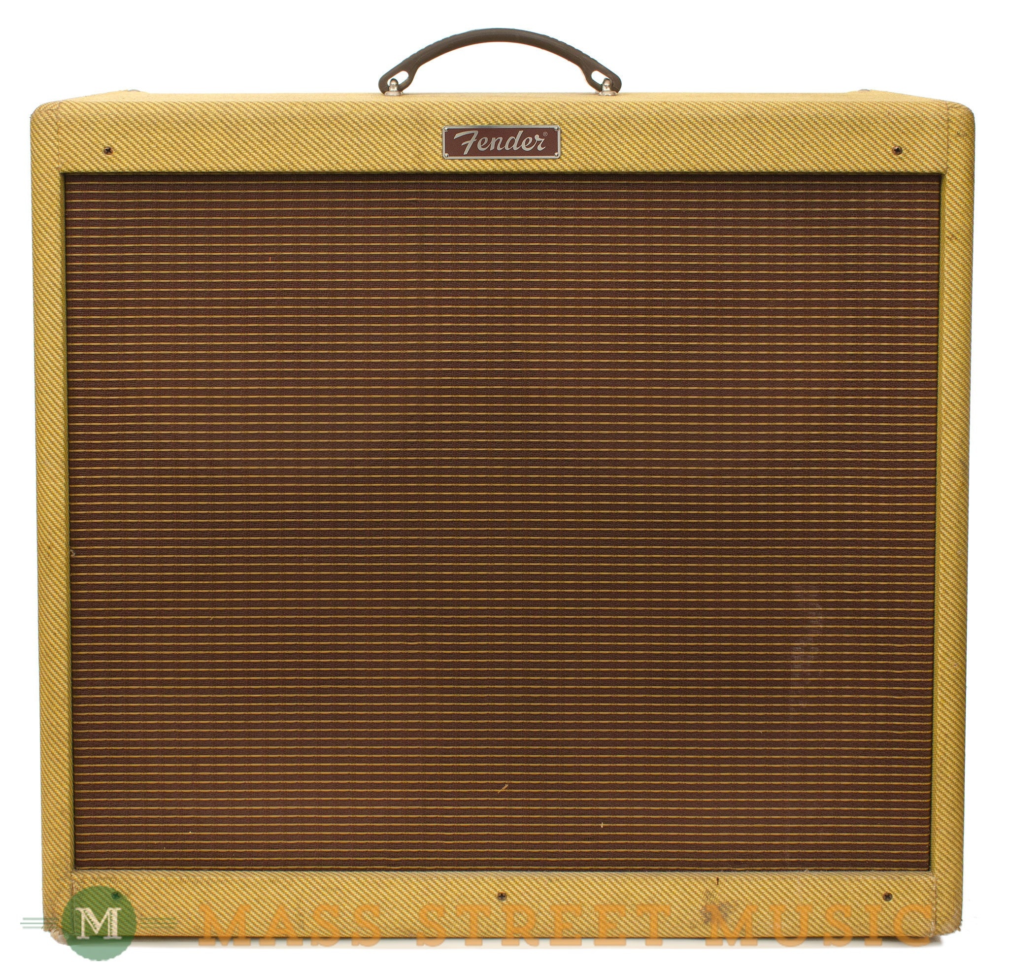 fender blues deville 4x10 1994 combo amp used with footswitch mass street music store. Black Bedroom Furniture Sets. Home Design Ideas