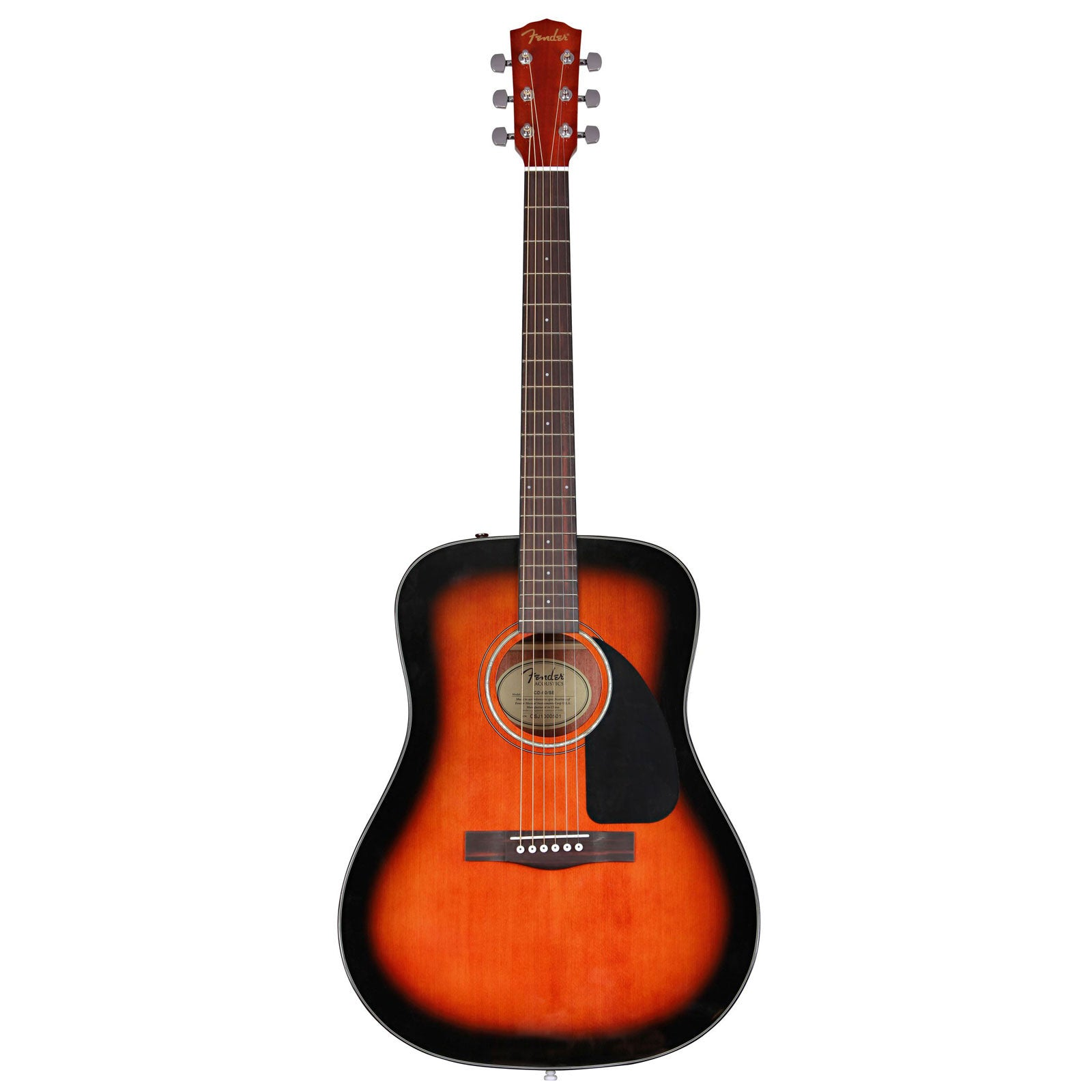 76688426e3f Fender - CD-60 Acoustic Guitar with hard case | Mass Street Music Store