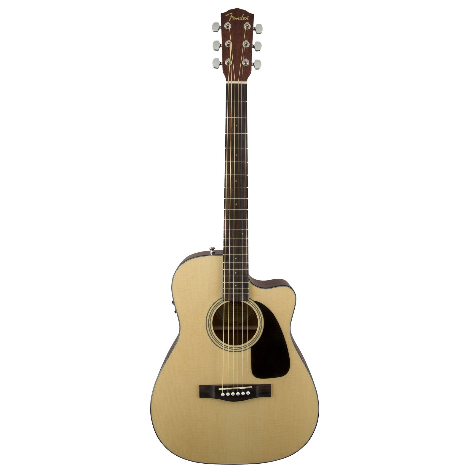 85d1cf5026e Fender - CF-60CE Acoustic Guitar with hardshell case | Mass Street ...