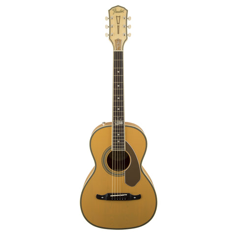 "Fender Acoustic Guitars - Ron Emory ""Loyalty"" Parlor - Butterscotch"