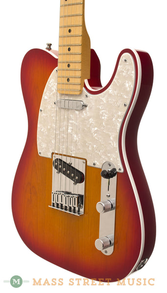 fender american deluxe telecaster 2013 used electric guitar with case mass street music store. Black Bedroom Furniture Sets. Home Design Ideas