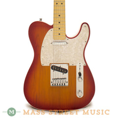 Fender American Deluxe Telecaster Electric Guitar - front close