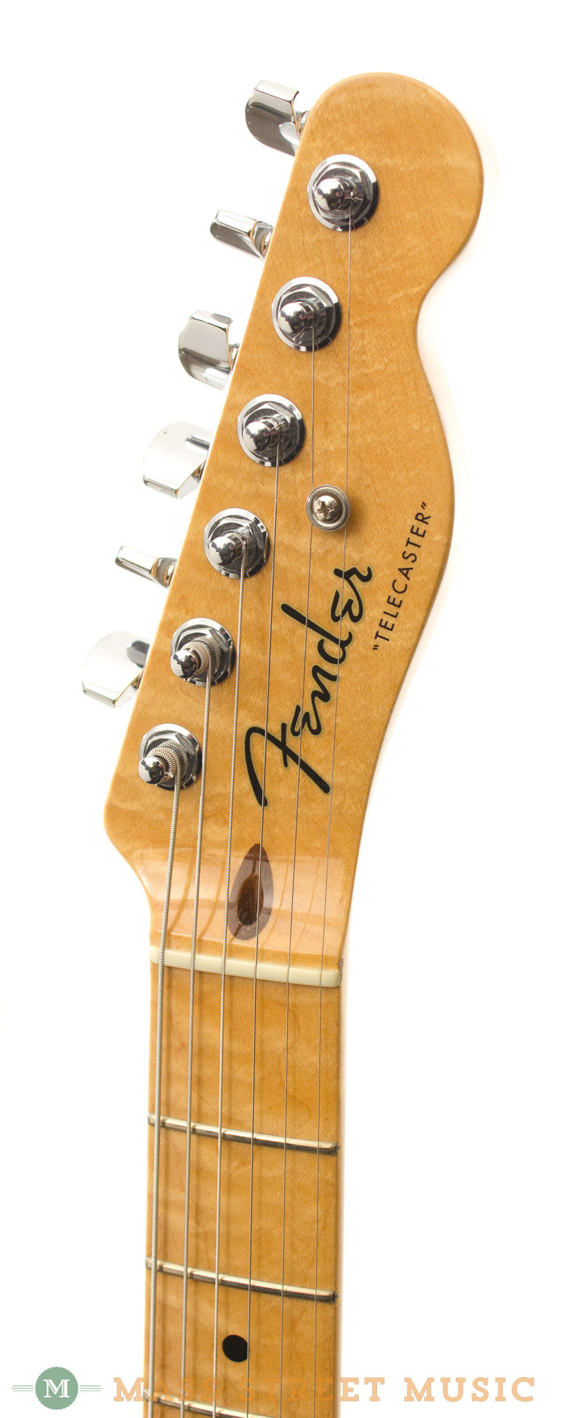 fender custom shop telecaster 2004 used electric guitar with case mass street music store. Black Bedroom Furniture Sets. Home Design Ideas