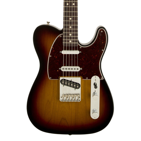 Fender Deluxe Nashville Telecaster Electric Guitar - front close stock