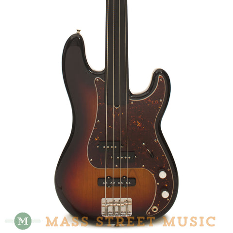 Fender Tony Franklin Fretless Precision Bass - front close