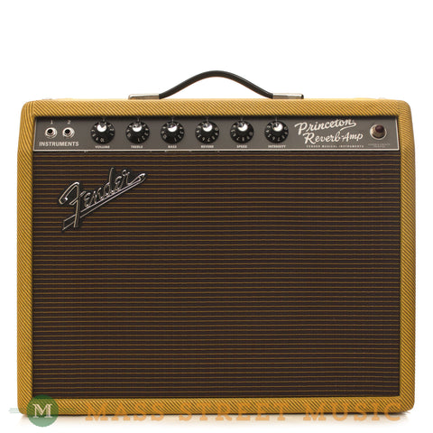 Fender '65 Princeton Reverb Reissue Limited Tweed Edition - front
