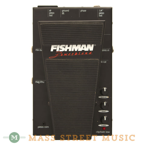 Fishman Powerblend Pedal Used - front